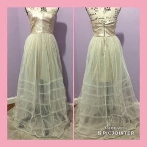Betsey Johnson Illusion Gown